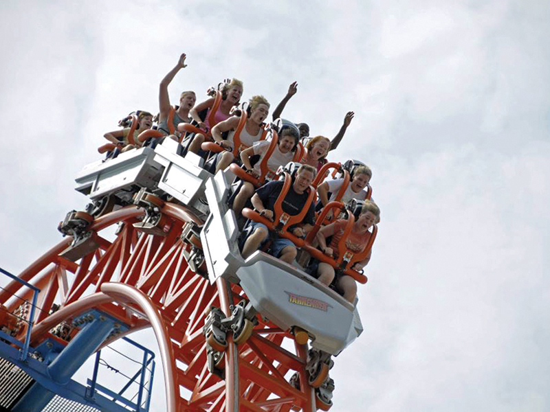 Vertical Lift Coaster