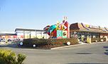 Remodeling  McDonald's Restaurant, St. Margrethen