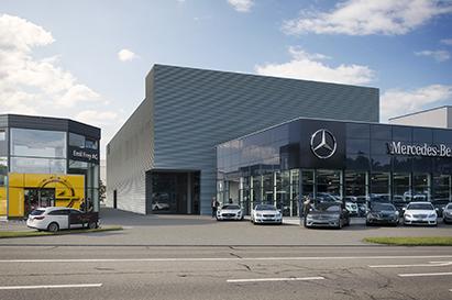 Werkstatt- Um- und Neubau, Emil Frey Garage, Industriestrasse, Volketswil