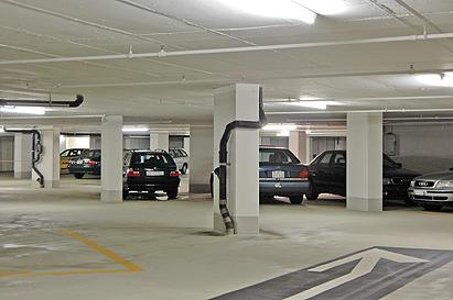 Parkhaus Sanierung 4. UG, NOVA-PARK, Zürich