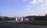 Baugesuch Denner-Verkaufspavillon, Areal Wässeri, Hinwil